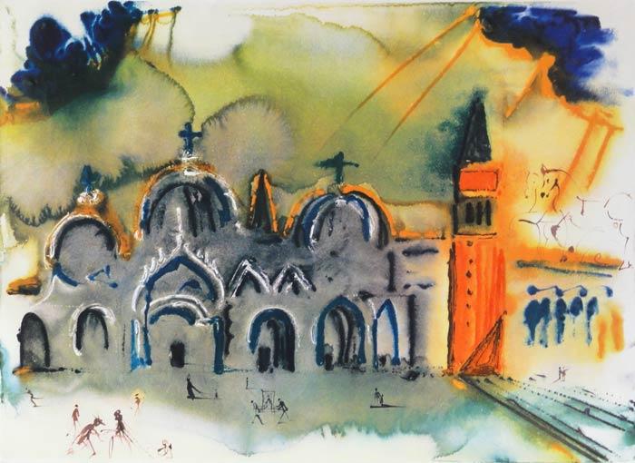 Venise. La Basilique et le Campanile