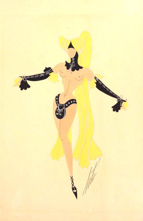 Ribaude (mannequins nus)
